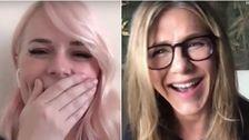 Jennifer Aniston Serviert Köstliche Überraschung Für Die Krankenschwester Mit Coronavirus