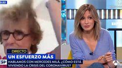 La reacción de Susanna Griso en 'Espejo Público' al ver cómo ha aparecido Mercedes