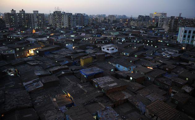 Le bidonville de Dharavi en