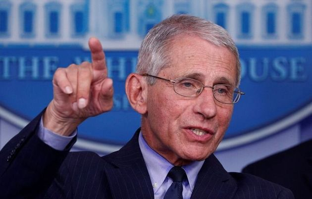 FILE PHOTO: FILE PHOTO: Dr. Anthony Fauci, director of the National Institute of Allergy and Infectious...