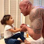 The Rock And Daughter Star In Your Quarantine Gold For The