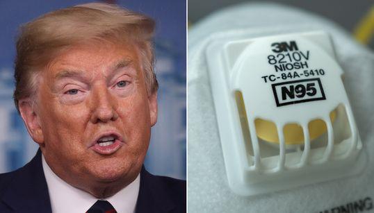 Stop Sending N95 Masks To Canada, Trump White House Tells