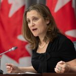 'We Love You Very Much,' Chrystia Freeland Tells Canada's