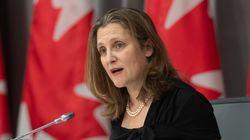 'We Love You Very Much,' Chrystia Freeland Tells Canada's