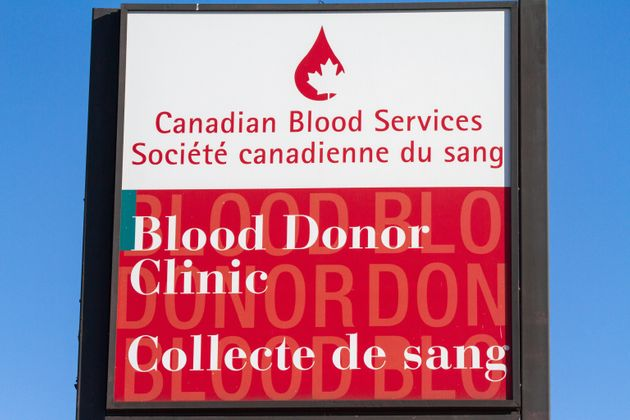 Canadian Blood Services in Kingston, Ont., on March 29,