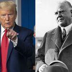 How Donald Trump's Coronavirus Response Compares To Herbert Hoover's Great Depression