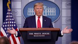 트럼프가 '마스크 착용' 지침을 발표하면서 '나는 안 쓰겠다'고