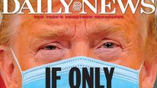 New York Daily News Moncong Truf Di Membungkam Halaman Depan