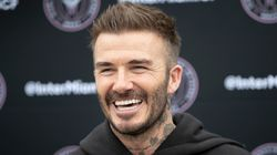 David Beckham Jumps On Head-Shaving Bandwagon While In