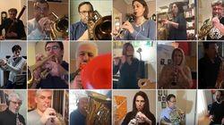 H Φιλαρμονική Ορχήστρα του δήμου Αθηναίων παίζει Μάνο Χατζιδάκι από το