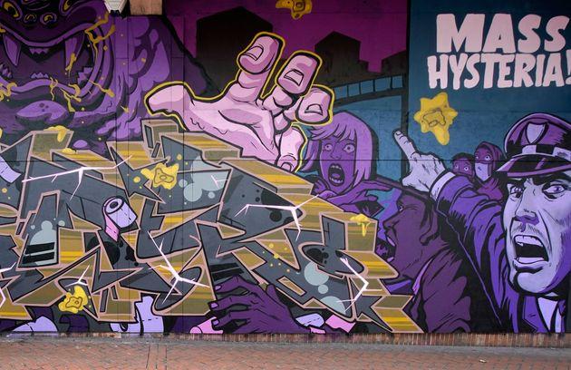 Graffiti στη Βρετανία (Photo by Christopher Furlong/Getty