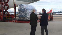 Llega a España un avión procedente de China con 120.000 test para sanitarios y cuerpos de