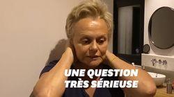 Muriel Robin a une question pour les coiffeurs au sujet du