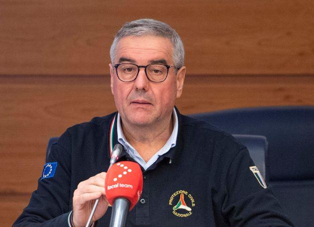 """Angelo Borrelli: """"Scendono ricoveri in terapia intensiva"""""""