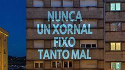 Estalla la 'guerra de las proyecciones' en Santiago: Unitaria contra el Correo