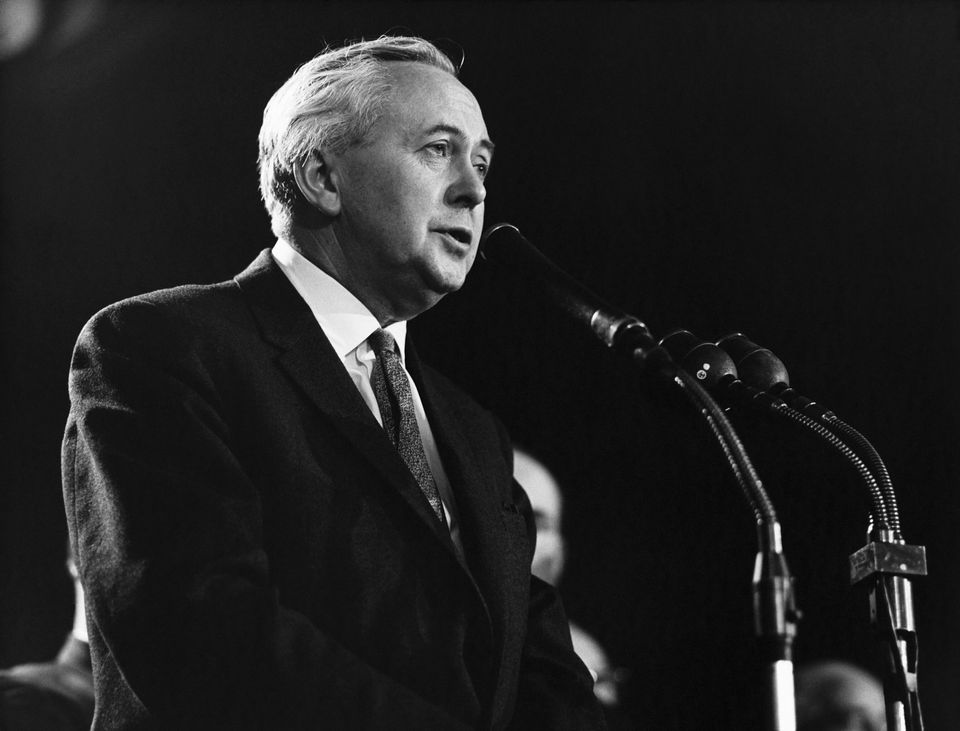 Harold Wilson, Labour PM 1964-1970 and