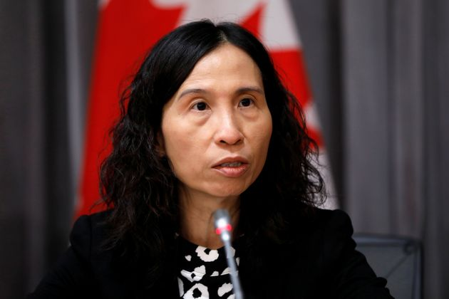 Canada's chief public health officer, Dr. Theresa Tam, is pictured in Ottawa on March 19,