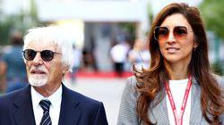 90세의 전 F1 회장이 44세 아내의 출산을 기다리고
