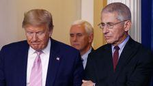 Sebagai Fauci Memohon Amerika Untuk Menjaga Jarak, Trump Pembicaraan Pembukaan Negara