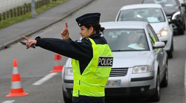 Les contrôles de police ont été renforcés pour le début des vacances...
