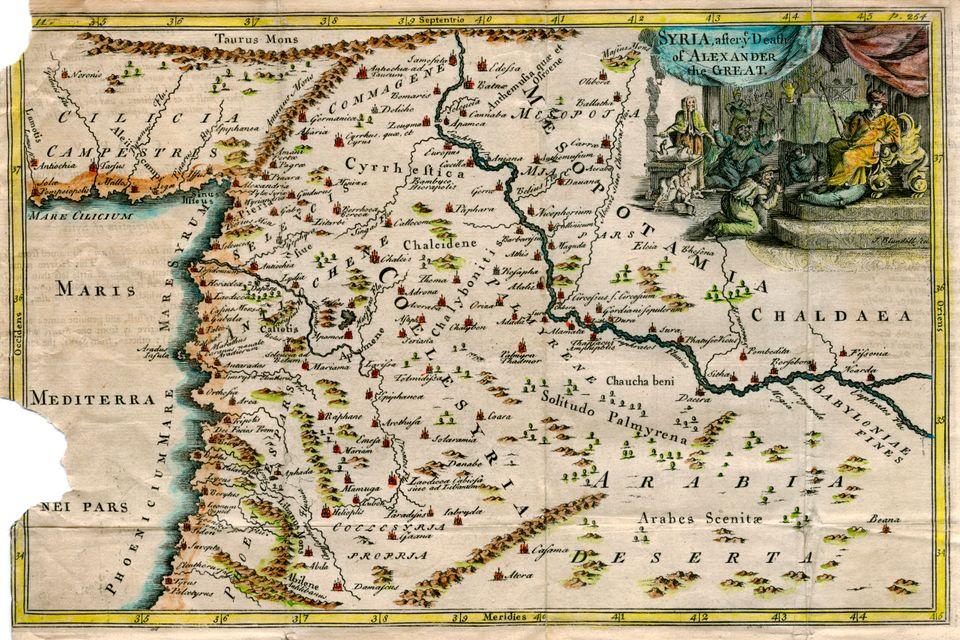 Ο Χάρτης της Συρίας μετά...