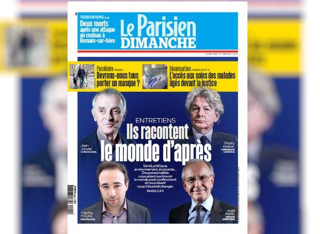 La une du Parisien sans aucune femme choque à gauche et dans la