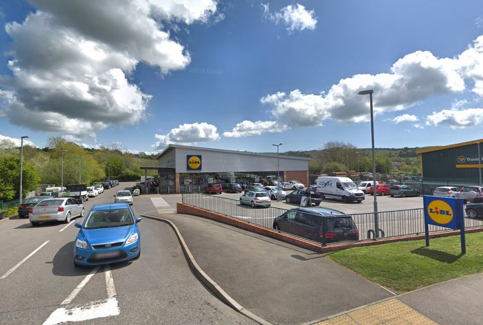 The Lidl store in Bridport.