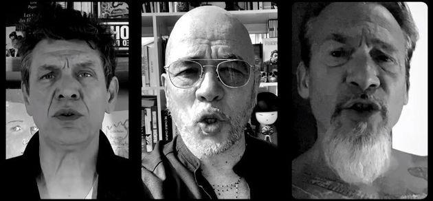 Marc Lavoine, Pascal Obispo et Florent Pagny ont dévoilé ce 4 avril le clip de leur titre
