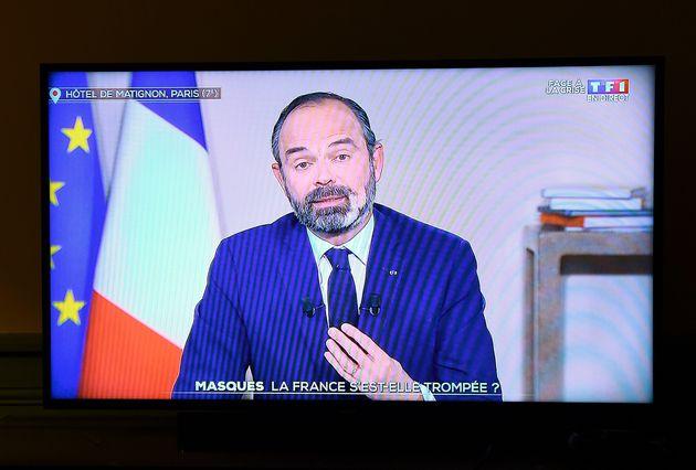 Edouard Philippe, Premier ministre, à la