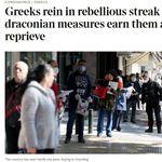 Τα διεθνή ΜΜΕ γράφουν (ξανά) με θαυμασμό για την Ελλάδα και τον Σωτήρη