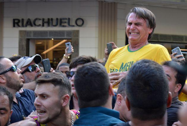 AMB classificou facada em Bolsonaro como atentado
