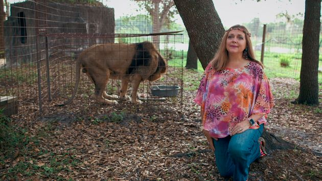 Big Cat Rescue founder Carol Baskin in Netflix's Tiger
