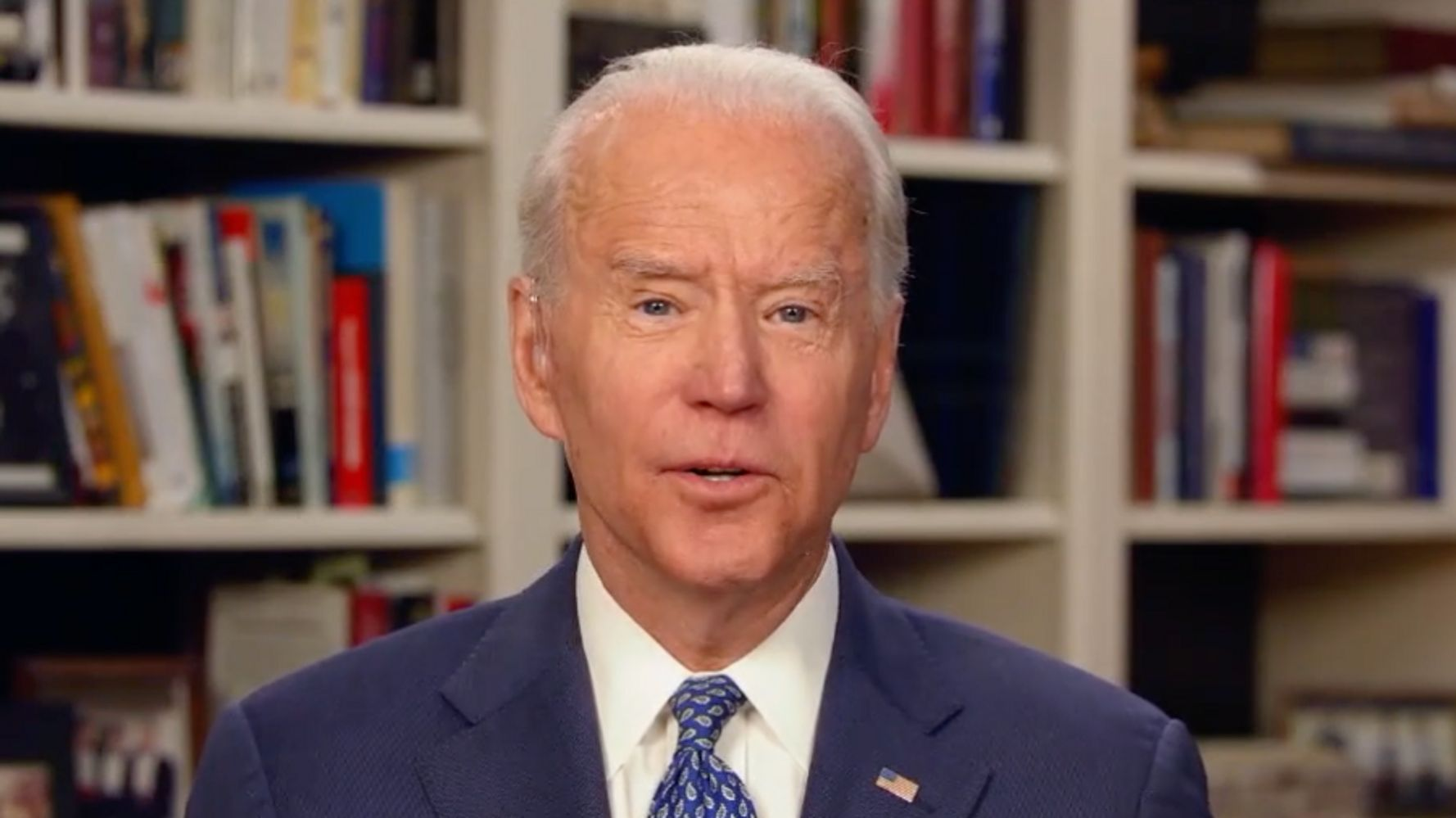 Biden Says 'Virtual' Democratic National Convention May Be Necessary