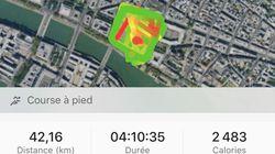 Confinés, ils ont couru le Marathon de Paris en