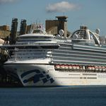 Ruby Princess Cruise Ship Docked At Port Kembla As Criminal Investigation