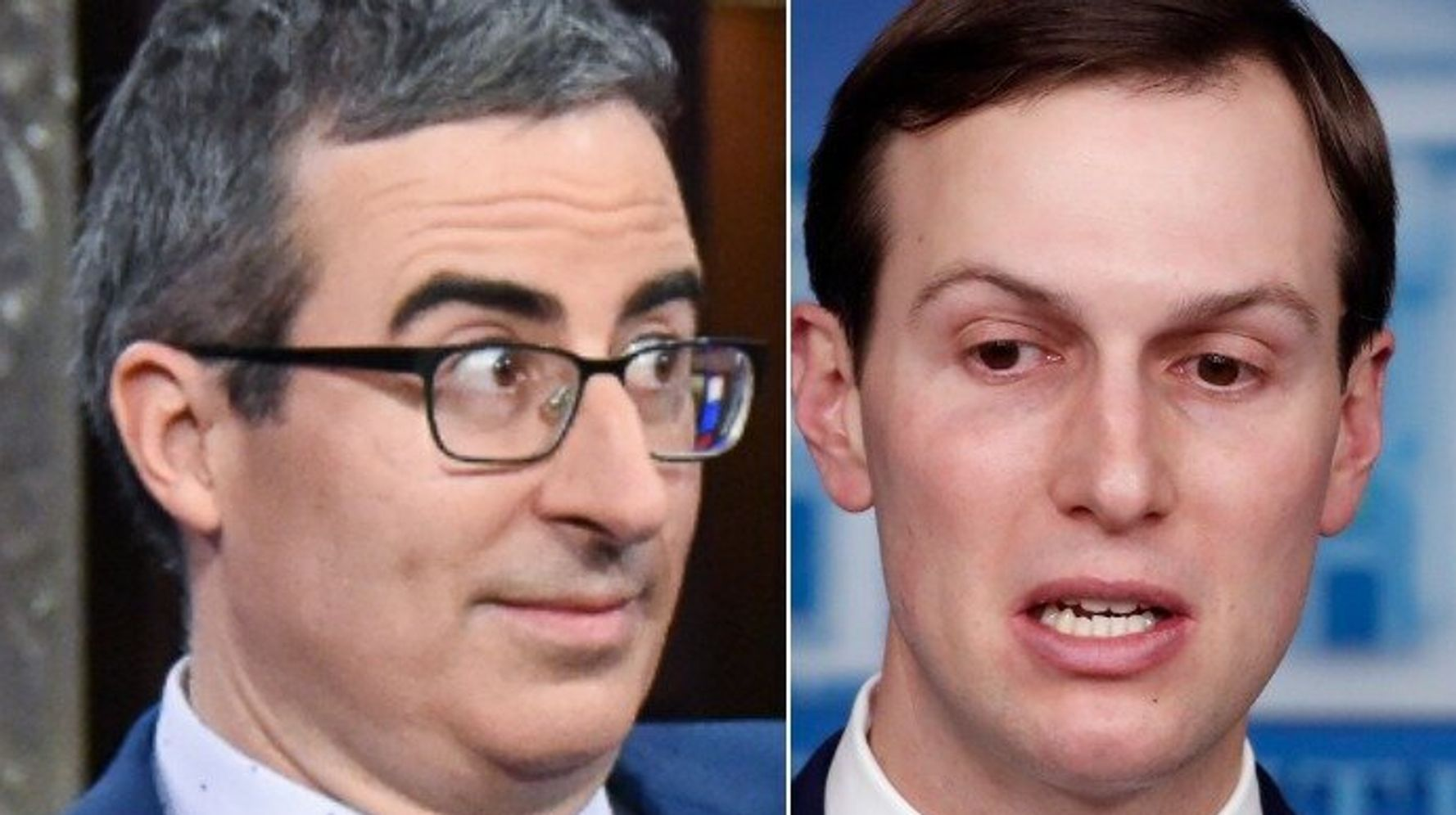 'Get F**ked, Jared!' John Oliver Unloads On Kushner's Clueless Comments
