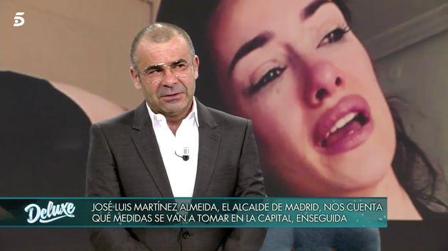 Jorge Javier Vázquez, en 'Sábado Deluxe' el 4 de abril de