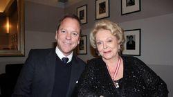 Shirley Douglas, la mère de Kiefer Sutherland, est décédée à l'âge de 86