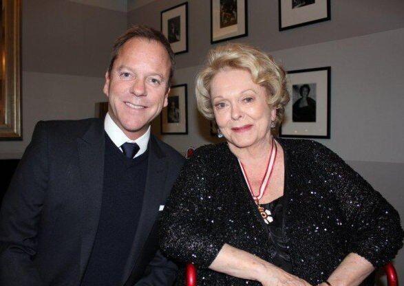 Shirley Douglas, l'actrice maman de Kiefer Sutherland est