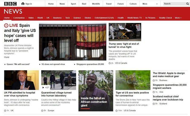 Apertura de la BBC este