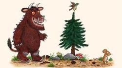 怪物グラファロも「2メートル離れよう」 人気絵本のキャラクターが新型ウイルス対策[BBC NEWS