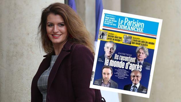 Marlène Schiappa, ici à l'Élysée le 15 janvier, a confié à la députée Céline Calvez une mission sur