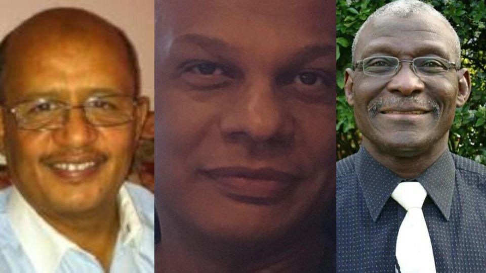 The first three NHS doctors to die in coronavirus outbreak : Dr Adil El Tayar, Dr Amged el-Hawrani and Dr. Alfa Saadu