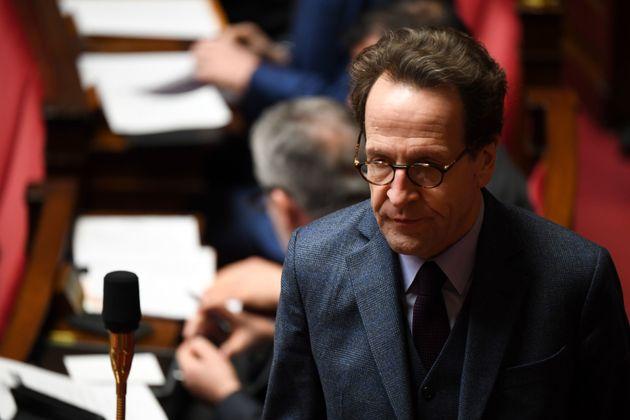 Le président du groupe LREM Gilles Le Gendre à l'Assemblée nationale en décembre...