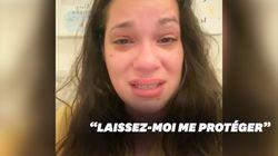 En larmes, cette infirmière américaine explique pourquoi elle a