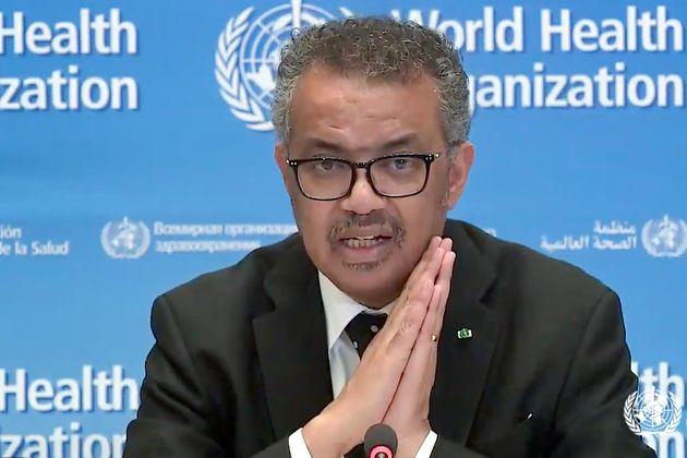 테드로스 아드하놈 게브레예수스 세계보건기구(WHO) 사무총장은 한국의 코로나19 대응을 높이 평가하며 문재인 대통령에게 세계보건총회 기조발언을