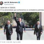 Seguindo fritura de Mandetta, Bolsonaro destaca ministros que seriam 'verdadeiros