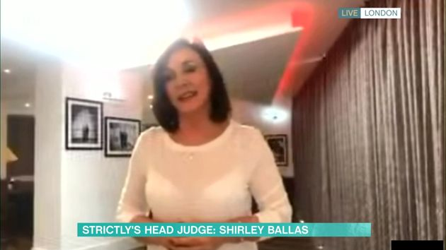 Shirley appeared live from her home on This
