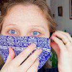 Comment faire un masque avec un foulard en une