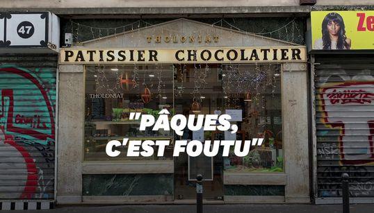 """Avec Pâques en plein confinement, ce chocolatier s'attend à """"frôler les"""